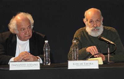 Luis de Tavira y Fernando Lozano. Cossi fan tutte, Teatro de las Artes del CENART, marzo 2015