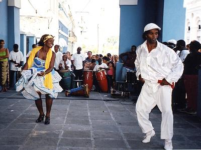 Francisco Zamora, Minini: Afrocuba de Matanzas se presenta en el Festival Centro Historico. Teatro de la Ciudad, abril 2015