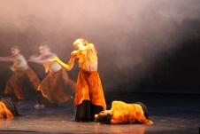 Danza Capital, dirigido por Cecilia Lugo, presenta Tango, danzones y amores, en el Teatro de la Ciudad, agosto 2015