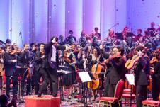 Orquesta Nacional Juvenil de Uruguay, dirigida por Ariel Britos, se presenta en el Teatro de la Ciudad, octubre 2015