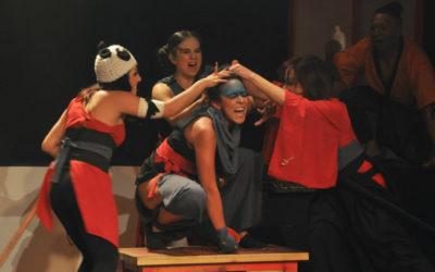 Anabel Rodriguez lleva a escena Brigada Roja. Foro La Gruta en el Centro Cultural Helenico, noviembre 2016. Foto Jorge Vargas