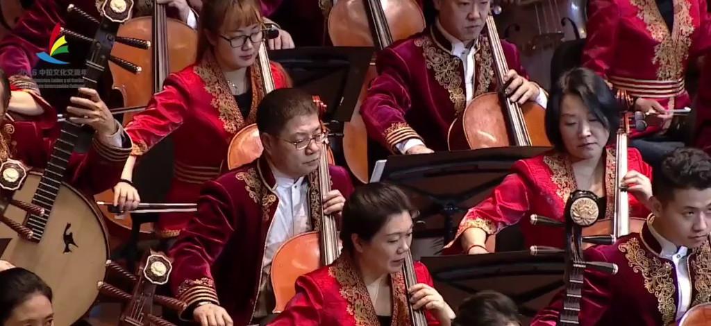 Orquesta Nacional China de Instrumentos Tradicionales se presenta en el Palacio de Bellas Artes, diciembre
