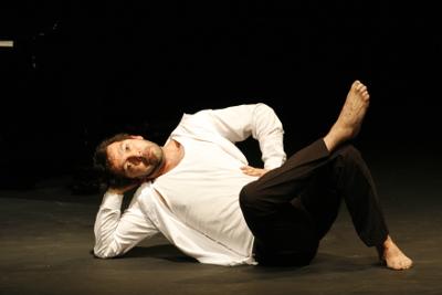 David Barron: Festival de Danza Contemporanea Unipersonal Cuerpo al Descubierto Miguel Angel Palmeros, Teatro Benito Juarez, febrero 2017