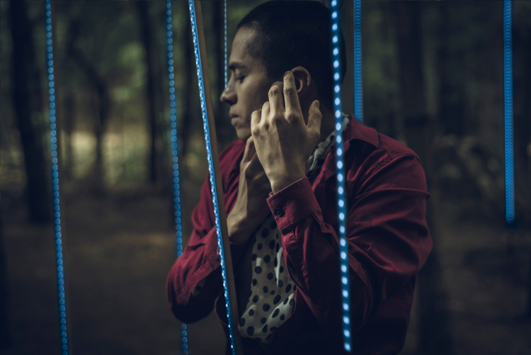 INTERflamenca presenta 7 formas de sacarle sonido a la tierra, espectaculo flamenco de Ricardo Rubio. Foro Shakespeare, febrero 2017. Foto La marmota azul