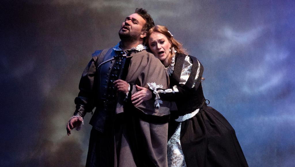 Ramon Vargas e Irina Dubrovskaya en Lucia di Lammermoor de Gaetano Donizetti. Palacio de Bellas Artes, febrero 2017