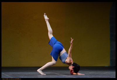 Maribel Michel: Festival de Danza Contemporanea Unipersonal Cuerpo al Descubierto Miguel Angel Palmeros, Teatro Benito Juarez, febrero 2017