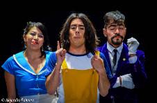 Imprudentes Teatro presenta Sensacional de Maricones, direccion de Jesus Rojas. Teatro Sergio Magana, febrero 2017