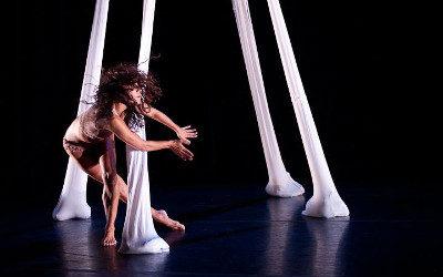 Ursula Verduzco: Festival de Danza Contemporanea Unipersonal Cuerpo al Descubierto Miguel Angel Palmeros, Teatro Benito Juarez, febrero 2017
