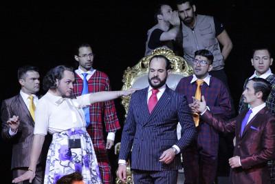 Ayolante, con direccion de Alvaro Cervino, se presenta en el Teatro de las Artes del Cenart, marzo 2017