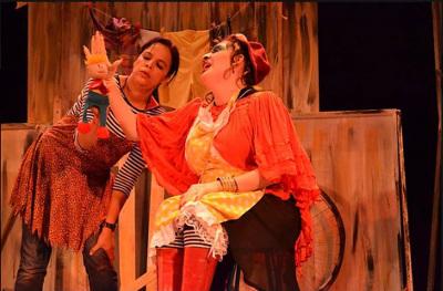Animista Teatro presenta  La peor senora del mundo, dirigida por Marta Torres y Helena Tinoco. Foro Shakespeare, marzo 2017