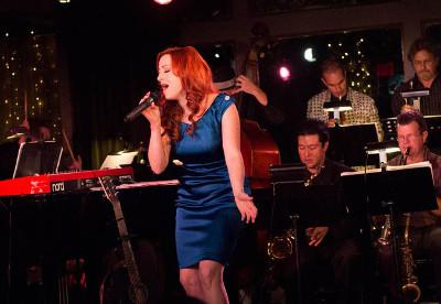 Laura Dickinson se presenta con la Latin American Jazz Orchestra en el Auditorio Fra Angelico del CUC, marzo 2017
