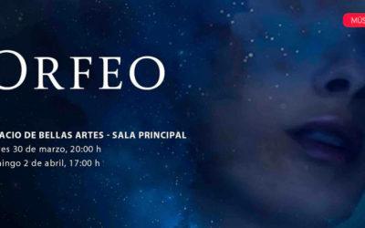 L Orfeo de Monteverdi, con direccion de Guido Maria Guida inaugura el Festival del Centro Historico. Palacio de Bellas Artes, abril 2017