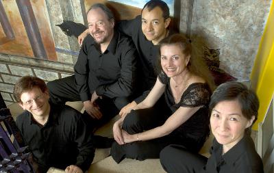 Quinteto de alientos de la Ciudad de Mexico se presenta en el Festival del Centro Historico, abril 2017