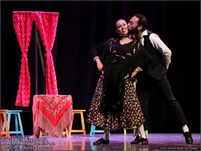 Cana y Candela Pura presenta Mi abuela flamenca, obra de Lourdes Lecona, en el Lunario del Auditorio Nacional, abril 2017