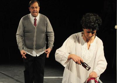 Buho Grande Teatro presenta El inmovil, obra de Juan Carlos Vives, en la La Gruta Centro Cultural Helenico, abril 2017