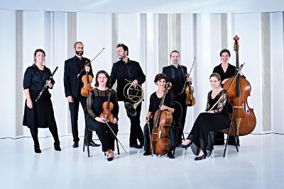 Le Concert de la Loge  se presenta con Philippe Jaroussky en el Palacio de Bellas Artes, abril 2017. Foto Franck Juery