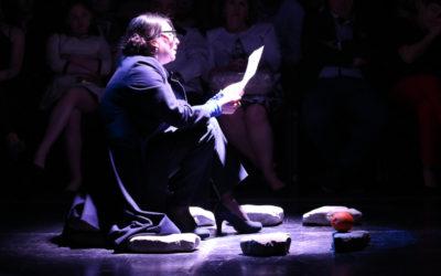 Teatro Shota Rustavelli presenta Master Class, direccion de Robert Sturua, en el Festival del Centro Historico. Teatro de la Ciudad Esperanza Iriz, abril 2017