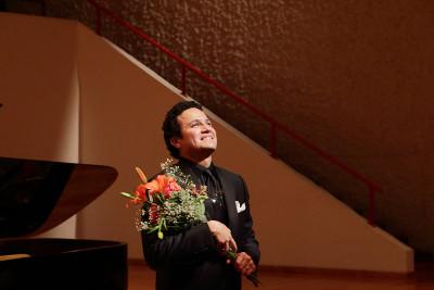Abdiel Vazquez se presenta en el Palacio de Bellas Artes, mayo 2017