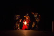 Sopa de Clown presenta Crash, dirigida por Nubia Alfonso, en el Foro de las Artes del Cenart, mayo 2017