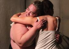 Vaca 35 Teatro en Grupo presenta Lo unico que necesita una gran actriz.... con direccion de Damian Cervantes. Bodega de Paso del Centro Cultural del Bosque, mayo 2017