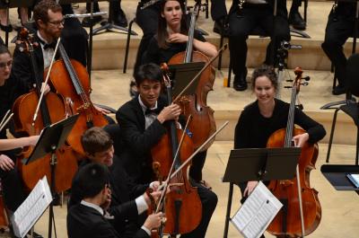 Orquesta Sinfonica de Stanford, dirigida por Anna Wittstruck, se presenta en el Palacio de Bellas Artes, junio 2017