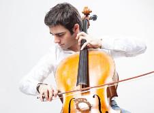 Pablo Ferrandez, solista invitado de la Orquesta Sinfonica Nacional. Palacio de Bellas Artes, junio 2017