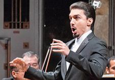 Alejandro Armenta participa en la Misa solemne de Beethoven con la Orquesta y Coro del Teatro de Bellas Artes. Palacio de Bellas Artes, julio 2017