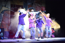 Menguare Teatro presenta Balsa sin remos, dirigida por Jorge Valdivia, en el Teatro Sergio Magana, julio 2017