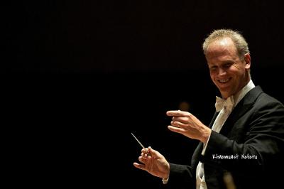 Carlos Miguel Prieto dirige a la Orquesta Sinfonica de Mineria en su Temporada Verano 2017. Foto Khaemuast Neferu