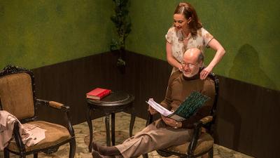 En casa en el Zoo, obra de Edwar Albee con direccion de Víctor Weinstock, se presenta en el Foro Shakespeare, julio 2017