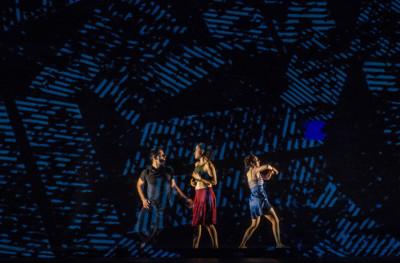 Foramen M. Ballet presenta Ecos Silenciosos, obra de Beatriz Madrid, en el Palacio de Bellas Artes, julio 2017