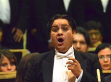 Hugo Colin participa en la Misa solemne de Beethoven con la Orquesta y Coro del Teatro de Bellas Artes. Palacio de Bellas Artes, julio 2017