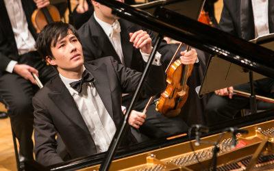 Louis Schwizgebel se presenta con la Orquesta Sinfonica de Mineria dirigida por Carlos Miguel Prieto, agosto 2017