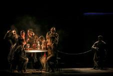 Ceprodac presenta Jauria, obra del coreografo Vladimir Rodriguez, en el FIDCDMX. Teatro de la Ciudad, agosto 2017 foto David Flores Rubio