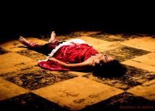 Contadores de Mentira, presenta Curra-Temperos sobre Medeia, en el Teatro Orientacion, agosto 2017