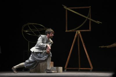 Antonio Castro lleva a escena La desobediencia de Marte, obra de Juan Villoro. Teatro Helenico, agosto 2017
