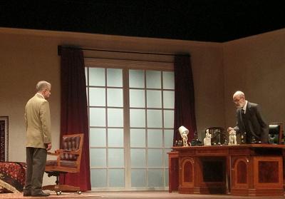Ortiz de Pinedo Producciones presenta La ultima sesion de Freud, dirigida por Jose Caballero. Teatro Lopez Tarso, agosto 2017