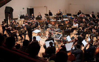 Orquesta Tipica de la Ciudad de Mexico celebra 133 anos de vida en el Teatro de la Ciudad, agosto 2017
