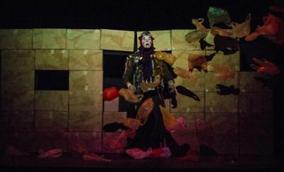 Circonciente presenta Risas de papel, obra de Jorge Reza Cisneros, con direccion de Camila Aguirre Beltran, en el Teatro El Galeon, septiembre 2017
