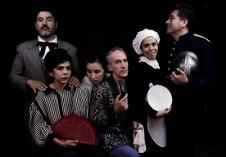 Teatro del exilio presenta La cantante calva, obra de Eugene Ionesco con direccion de Jesus Diaz. Centro Cultural Helenico, septiembre 2017. Foto Tomas Otero.