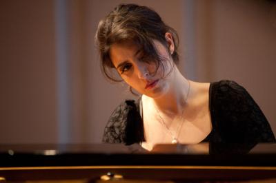 Sophie Pacini se presenta en el Festival Internacional de Piano En Blanco & Negro. Centro Nacional de las Artes, septiembre 2017. Foto Susanne Krauss
