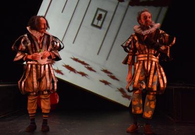 Cervantes versos Shakespeare, obra de Aurora Cano, se presenta en la Sala Xavier Villaurrutia, octubre 2017