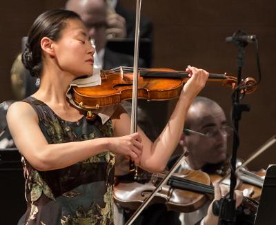Midori se presento en el Palacio de Bellas Artes, octubre 2017