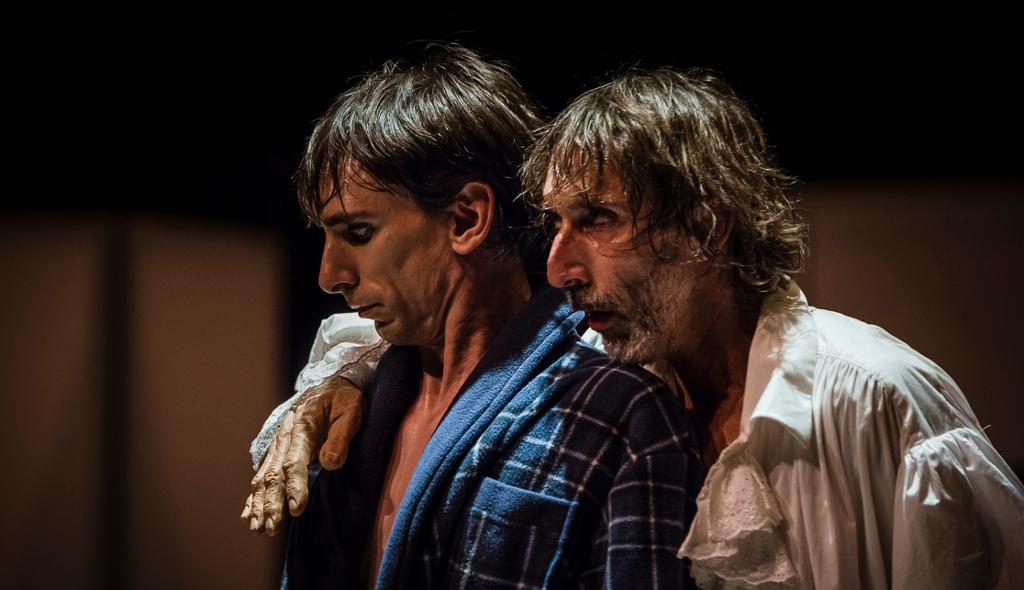 Mar Gomez presenta Asi en la tierra como en el cielo, en el Teatro de la Danza, octubre 2017. Foto Fernado Prats