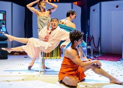 Mar Gomez presenta Asi en la tierra como en el cielo, en el Teatro de la Danza, octubre 2017. Foto Fernando Prats