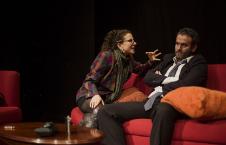 Ponte Tra Culture  presenta Pareja abierta, obra dirigida por Gianluca Barbadori, en el Teatro de la Danza, octubre 2017