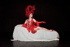 Ballet Independiente, celebra 51 anos en el Teatro de la Danza con Carmen, obra de Gregorio Trejo, noviembre 2017. Foto Angel Medina