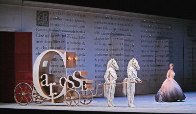 Cendrillon, Met Opera. Auditorio, noviembre 2017. Foto Kean Howard