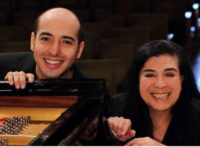 Guadalupe Parrondo y Rodolfo Ritter se presentan en el Palacio de Bellas Artes, noviembre 2017