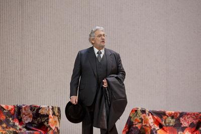 Placido Domingo en Luisa Miller, Met. Auditorio, noviembre 2017